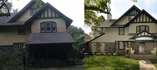 Before & After (Exterior)